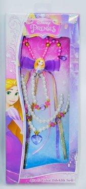 Disney Rapunzel Asa Kolye Bileklik Seti