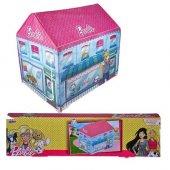 Vardem Ev Şeklinde Oyun Çadırı Barbie Lisanslı