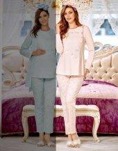 Flz 24 276 Bayan Hamile Lohusa Pijama Takımı