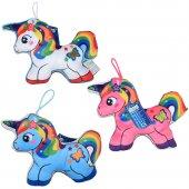 Oyuncak Baskılı Sevimli Atlar 18 Cm