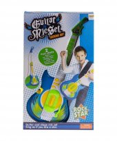 Furkan Toys Rock Star 2 Play Mode Mikrafonlu Gitar...