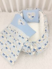 Modastra Baby Nest Ve Pikeli Set Baby Nest