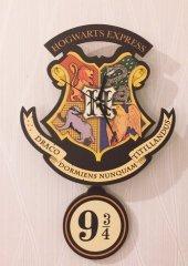 Hogwarts Express Sallanır Sarkaçlı Duvar Saati