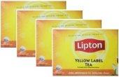 Lipton Yellow Label Demlik Poşet Çay 100lü X 4 Adet
