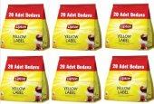 Lipton Yellow Label Demlik Poşet Çay 120li X 6 Adet