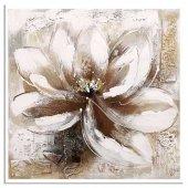 çiçek Modern Kare Yağlı Boya Reprodüksiyon Tablolar 70 Cm X 70 Cm