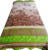 Aksu Battaniye Elegans Yeşil Tek Kişilik