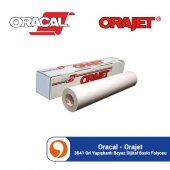 Oracal Orajet 3641 Gri Yapışkanlı Beyaz Dijital Ba...