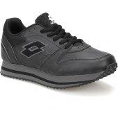 Lotto S3524 Trainer Pu W Siyah Gri Kadın Sneaker Ayakkabı