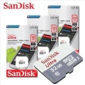 Sandisk 64gb Microsd 80mb S Class10 Hafıza Kartı...