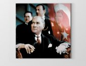 Atatürk Ve Bayrak Tablosu