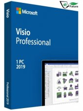 Microsoft Visio Professional 2019 Dijital Lisans