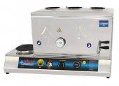Elektrikli 3 Demlik 40lt Çay Ocağı Kazanı Makinesi Kaynaklı