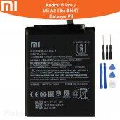 Xiaomi Redmi 6 Pro Mi A2 Lite Bn47 Batarya Pil Ve Tamir Seti