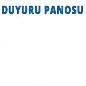 Ikaz Levhası Pvc(12x25) Duyuru Panosu
