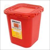 Patolojik Atık Kabı 60 Lt Kırmızı Ücretsiz Kargo