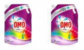 Omo Yeni Ambalaj Sıvı Deterjan Pouch Color 1350 Ml X 2 Adet