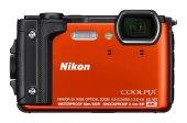 Nikon W300 Suya Toza Darbeye Dayanıklı Fotoğraf Makinesi (Turuncu