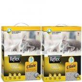 Reflex Klinik Özel Formüllü Topaklanan Kedi Kumu 6 Lt X 2 Adet (5188)
