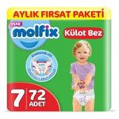Molfix Külot Bez 7 Beden Xx Large Aylık Fırsat Pak...