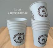 Karton Bardak 6,5 Oz 500 Adet Akıtmaz Ofis Bardağı