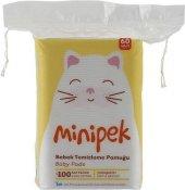 Ipek Minipek 60lı Bebek Temizleme Pamuğu 24lü