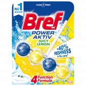 Bref Power Aktiv Limon Wc Klozet Blok 5 Adet + Kar...