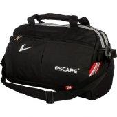 Unisex Spor Ve Seyahat Çantası Küçük Boy Çanta Siyah Renk Faturalı Aynı Gün Kargo