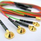 Eeg Kablosu Altın Uçlu Neurofeedback