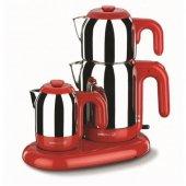 Korkmaz A353 01 Mia Kırmızı Inox Çay Kahve Makinası