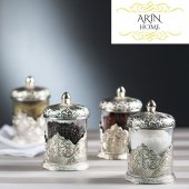 Osmanlı Model Gümüş 4' Lü Baharatlık Seti