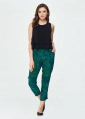 Dagi Kadın Cupro Pantolon Yeşil B0219y0081yes