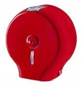 Palex 3444 B Jumbo Tuvalet Kağıdı Dispenseri Kırmızı