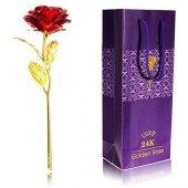 Altın Kaplama Gül Solmayan Gül 24k Golden Rose
