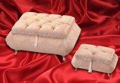 Kristal Taşlı Ayaklı Nişan Sandığı Mel 151