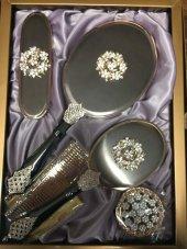 Monalisa Lux Yaprak Desenli Ayna Tarak Fırça Tk 26...