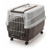 ımac Kim 60 Tekerlekli Kedi Köpek Taşıma Çantası Kahverengi