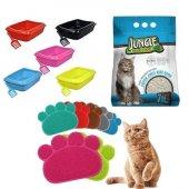 Kedi Tuvalet Seti Ve İhtiyaçları 3lü Paket(Süpriz Hediyeli)