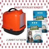 Kedi Tuvalet Seti Ve İhtiyaçları (Süpriz Hediyeli)