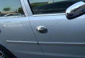 Opel Combo C 2001 2011 Krom Kapı Kolu 2li Paslanmaz Çelik