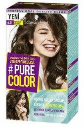 Schwarzkopf Pure Color Jel Saç Boyası 6.0 Az Sütlü Çikolata