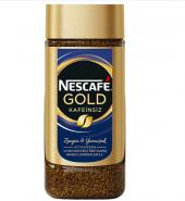 Nescafe Gold Kafeinsiz (Cam Kavanoz) 100 Gr