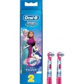 Oral B Çocuk Diş Fırçası Yedeği 2li (Frozen Özel S...