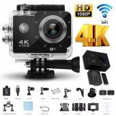 Angeleye Ks 503 4k Ultra Hd 170 Derece Wifi Aksiyon Kamera