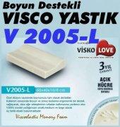 Visko Love V2005 L Boyun Destekli Ortopedik Visco Yastık