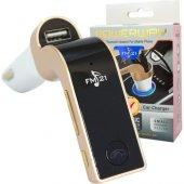 Powerway Bluetooth Araç Şarj Aleti+ Fm Transmitter+micro Sd Kart