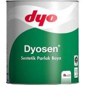 Dyosen Sentetik Parlak Boya 0,75 Lt Toz Gri