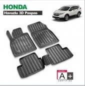 Honda Crv 2012 Sonrası 3d Siyah Havuzlu Paspas