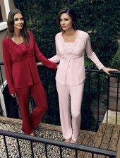 2 Li Penye Pijama Takımı 2025