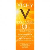 Vichy İdeal Soleil Spf50 Micro Fluid Face Ultra Akışkan 40ml Kar